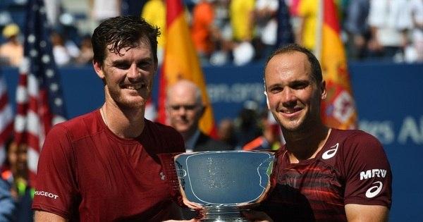 Jamie Murray e Bruno Soares passeiam e conquistam título de duplas no Aberto dos EUA