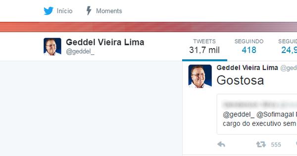 Tweets polêmicos desmoralizam ministro Geddel Vieira Lima ...