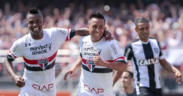 No Morumbi, São Paulo supera Figueirense e volta a vencer em ...