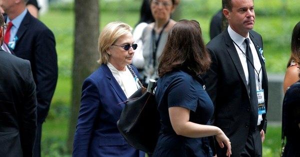 Hillary Clinton deixa cerimônia de 11 de setembro após mal estar ...