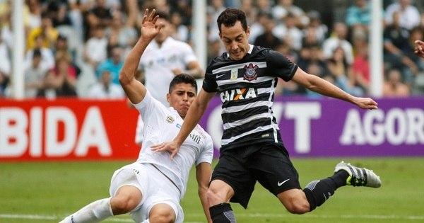 De virada e com pênalti polêmico, Santos vence o Corinthians na ...