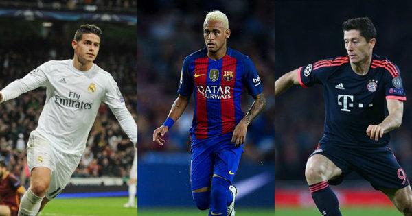 Seleção dos milhões! Veja quais são os jogadores mais valiosos do ...