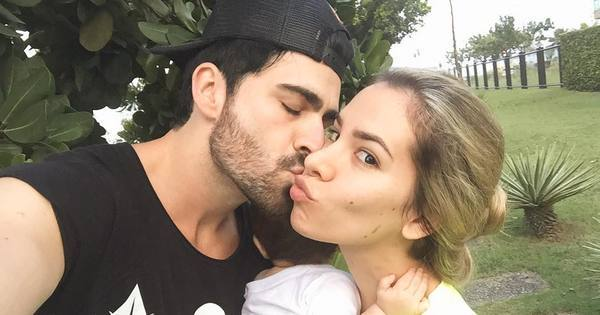Ex-BBBs Rodrigão e Adriana Sant'Anna comemoram sete meses do ...