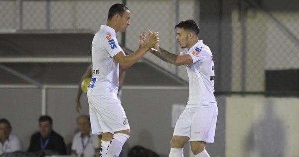 Gol no início derruba o Botafogo e põe Santos de volta na briga pelo...