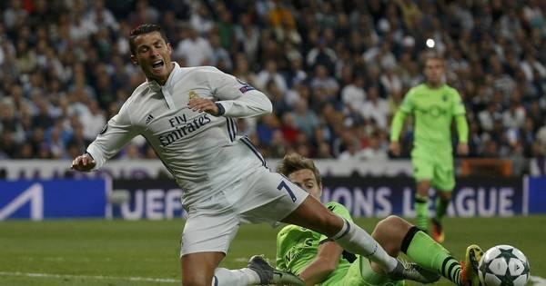 Cristiano Ronaldo marca em vitória suada do Real Madrid sobre o ...