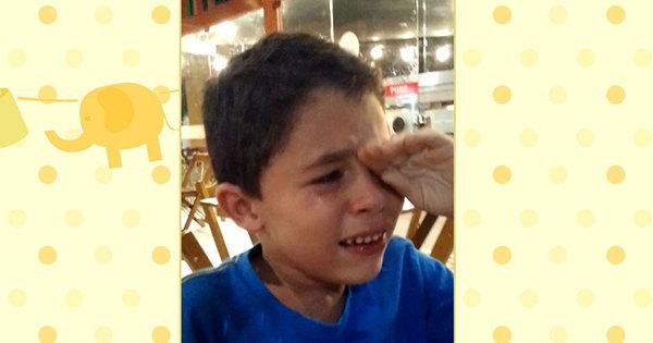 Conheça Guilherme, o garotinho que chorou de emoção ao saber ...