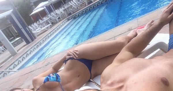 Ex-BBBs Eliéser e Kamilla Salgado exibem boa forma em dia de ...