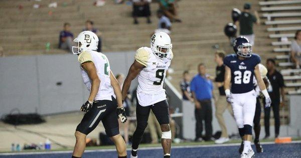 Com touchdown espetacular, Baylor vence Rice facilmente ...