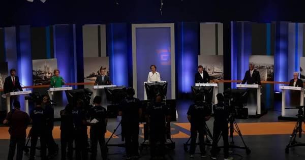 Ataques indiretos marcam terceiro debate entre candidatos à ...