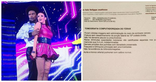 Lisandra Souto explica saída do quadro Dança dos Famosos ...