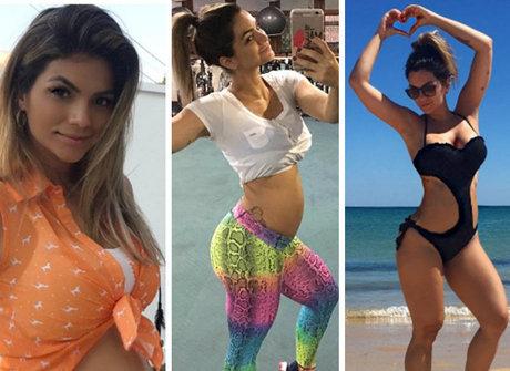 Acompanhe toda a evolução da barriga de grávida de Kelly Key