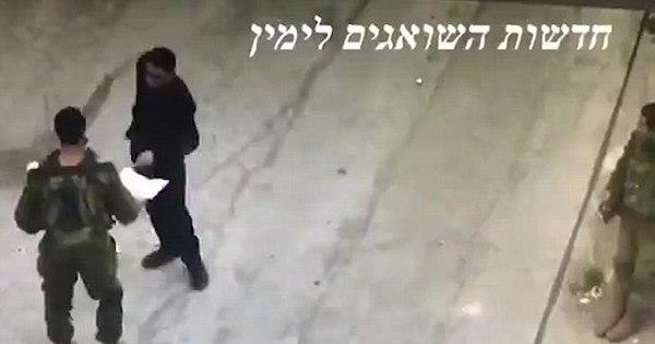 Traição: veja vídeo em que palestino esfaqueia soldado israelense ...