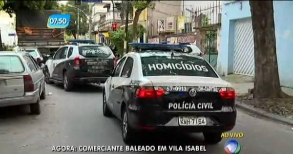 Homem é morto à tiros em rua de Vila Isabel, zona norte do Rio ...