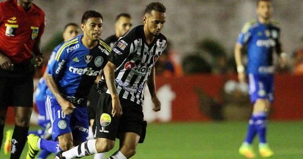 Mistão do Palmeiras perde para Botafogo-PB, mas se classifica na ...
