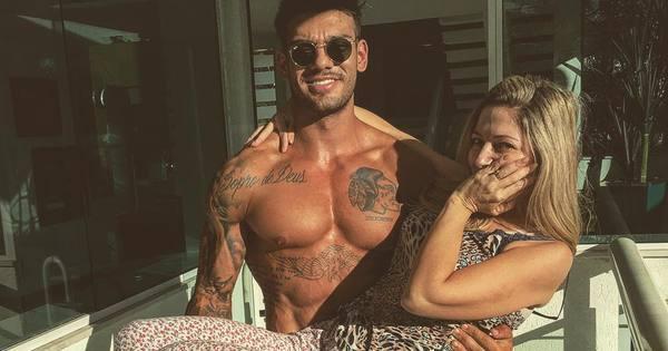 Aos 41 anos, mãe de Lucas Lucco mostra nas redes sociais que ...