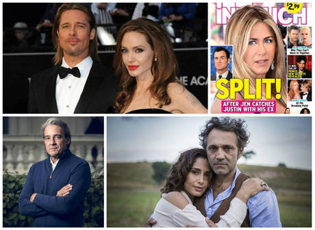 Separação entre Angelina Jolie e Brad Pitt deu muito o que falar