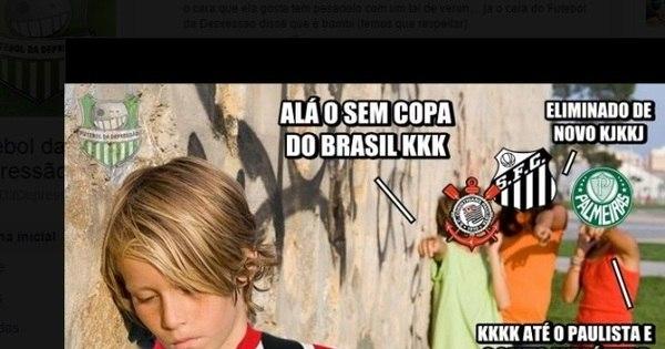Rivais capricham nos memes e não perdoam eliminação do São ...