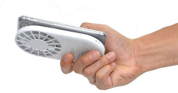 Gadget refrescante do dia: Cooler com bateria para smartphone da ...