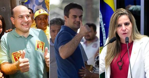Datafolha: Roberto Cláudio (PDT) e Capitão Wagner ( PR) estão ...