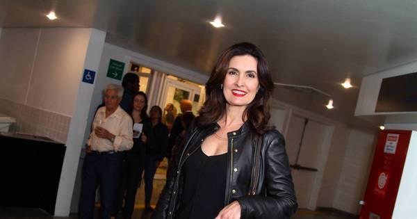 Solteira, Fátima Bernardes curte show no Rio de Janeiro ...