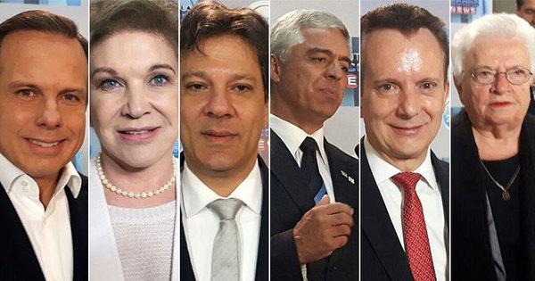 Paraná Pesquisas: Doria tem 33,5%, Russomanno soma 19,7% e ...