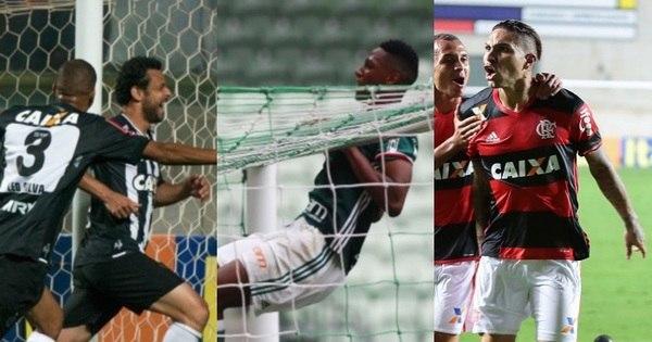 Rodada do Brasileirão polariza briga pelo título e põe gigantes no Z-4