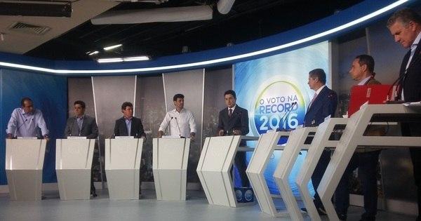 Debate: Adversários miram ataques a vice-líder na disputa em BH ...