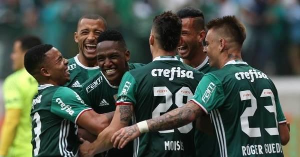 Líder no Brasileirão, Palmeiras volta atenções para jogo diante do ...