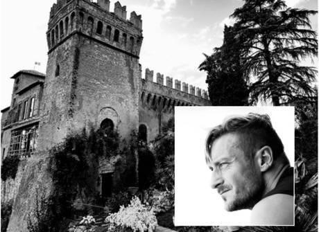 Totti comemora os seus 40 anos com festa de R$ 365 mil em castelo