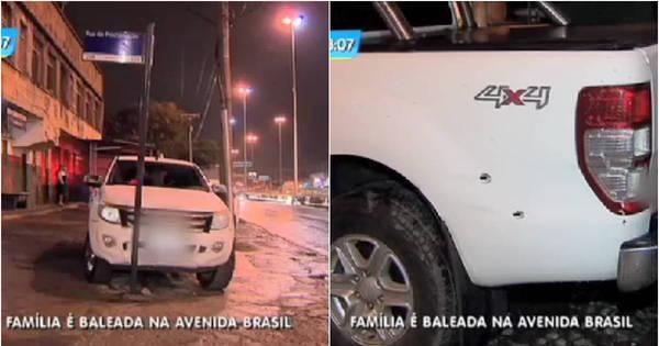 Família é baleada dentro de carro durante perseguição policial na ...