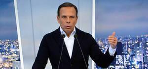 Candidato do PSDB, João Dória lidera as intenções de voto em SP