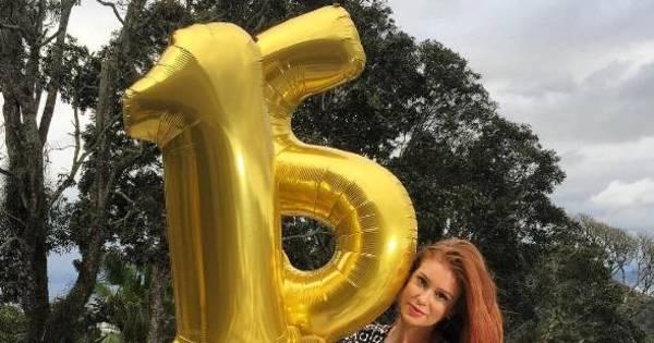 Marina Ruy Barbosa comemora marca de 15 milhões de seguidores ...