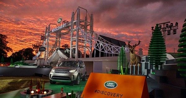 Land Rover revela novo Discovery em estrutura gigante de Lego e ...