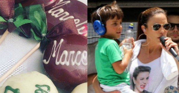 Ivete Sangalo comemora aniversário de sete anos do filho e se ...