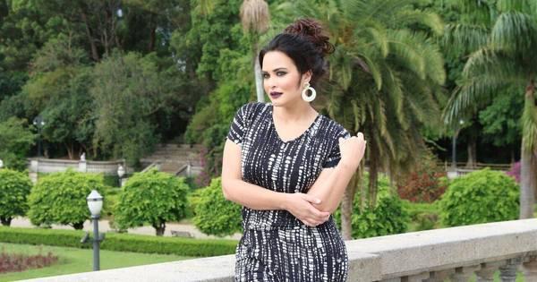 Geisy Arruda fotografa para grife de moda pluz size vestida com ...