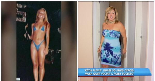 Sucesso nos anos 90, Regininha Poltergeist, a Kátia Flávia, chegou ...