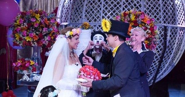 De surpresa, Xuxa realiza sonho de noivo e celebra casamento em ...
