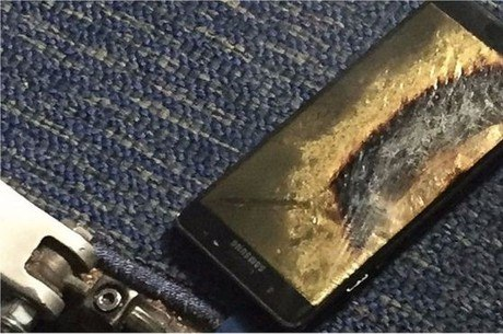 Samsung interrompe produção dos Galaxy Note 7
