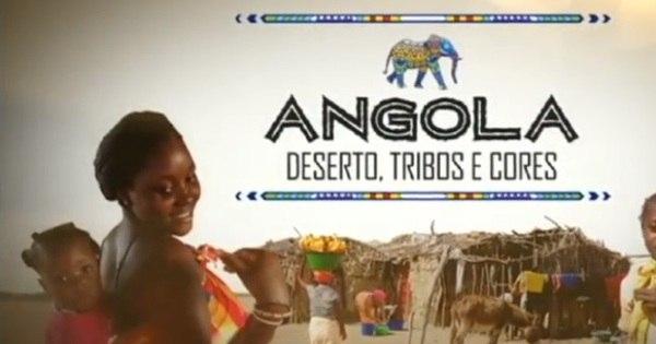 Angola: deserto, tribos e cores - Jornal da Record - R7 Séries