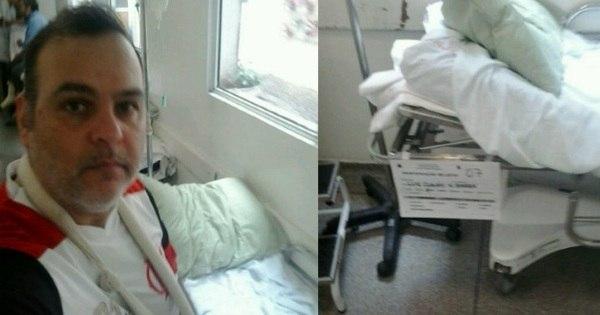 Paciente corre risco de perder braço enquanto aguarda cirurgia em ...