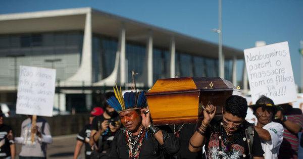 Brasil vive massacre moderno de indígenas - Notícias - R7 Brasil