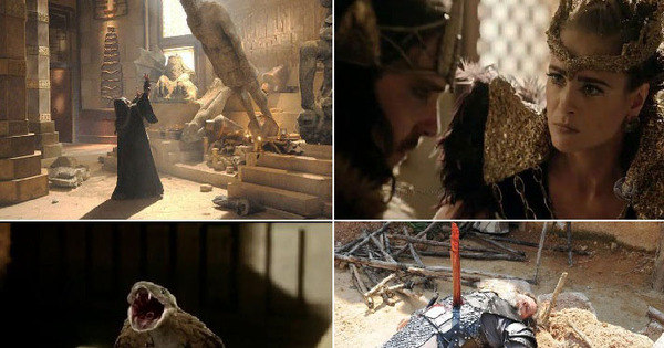 Veja como foram as mortes trágicas dos vilões cananeus durante a ...