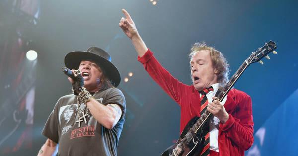 Assista às melhores parcerias do Guns N' Roses no palco ...