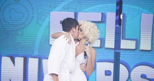 Parabéns, Rodrigo Faro! Vestida de Marilyn Monroe, Vera Viel ...