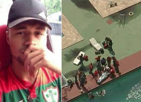 Jogador achado morto em piscina participava de festa após vitória