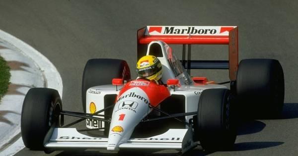 Tricampeonato de Senna na Fórmula 1 completa 25 anos - Esportes ...