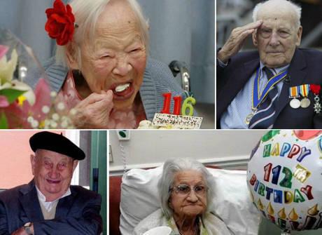 Centenários revelam segredinhos inusitados para a sua longevidade