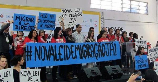 'Migração não é caso de polícia': Grupos pedem reformulação de lei ...