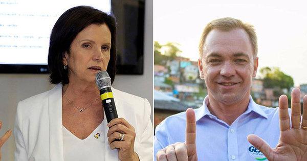 Gean Loureiro (PMDB) leva vantagem sobre Angela Amin (PP) em ...