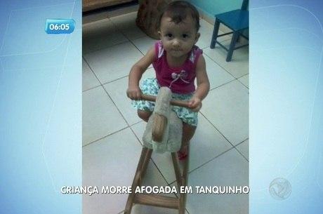 TRAGÉDIA - Criança morre afogada em tanquinho de lavar roupas